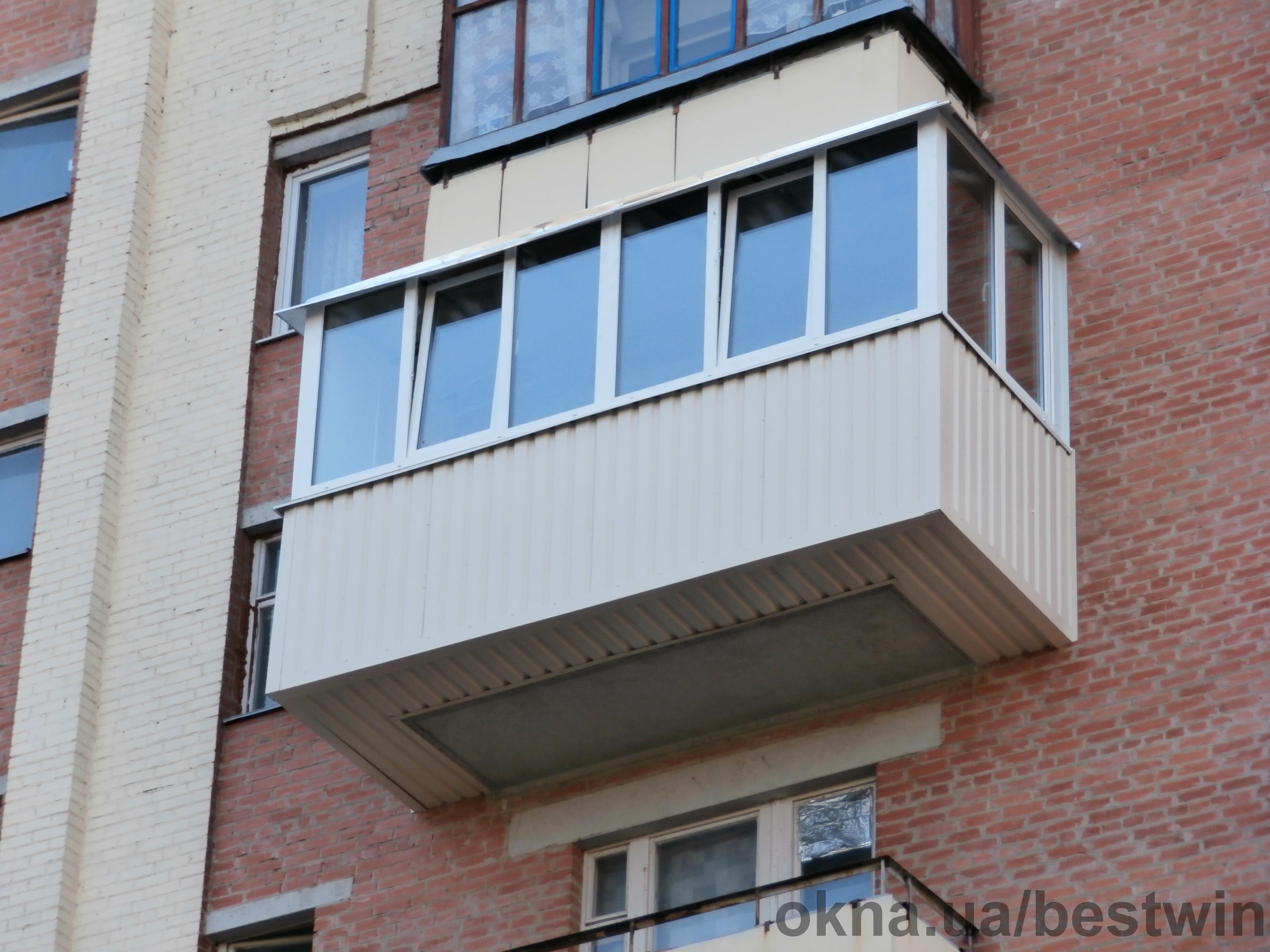 Расширение и отделка балконов под ключ в краснодаре , купить.